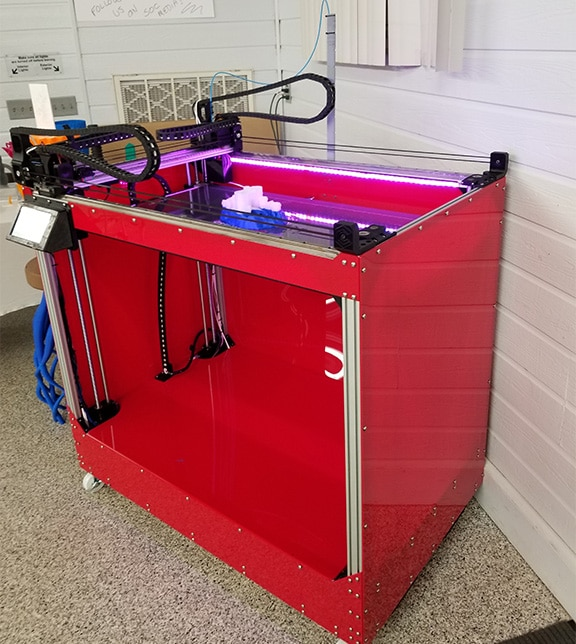 Creative 3d Technologies Large Scale Industrial Printer