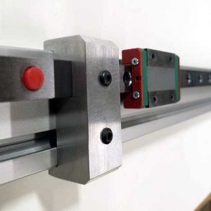 Linear Rail Stop 20x40 w/Rail Alignment