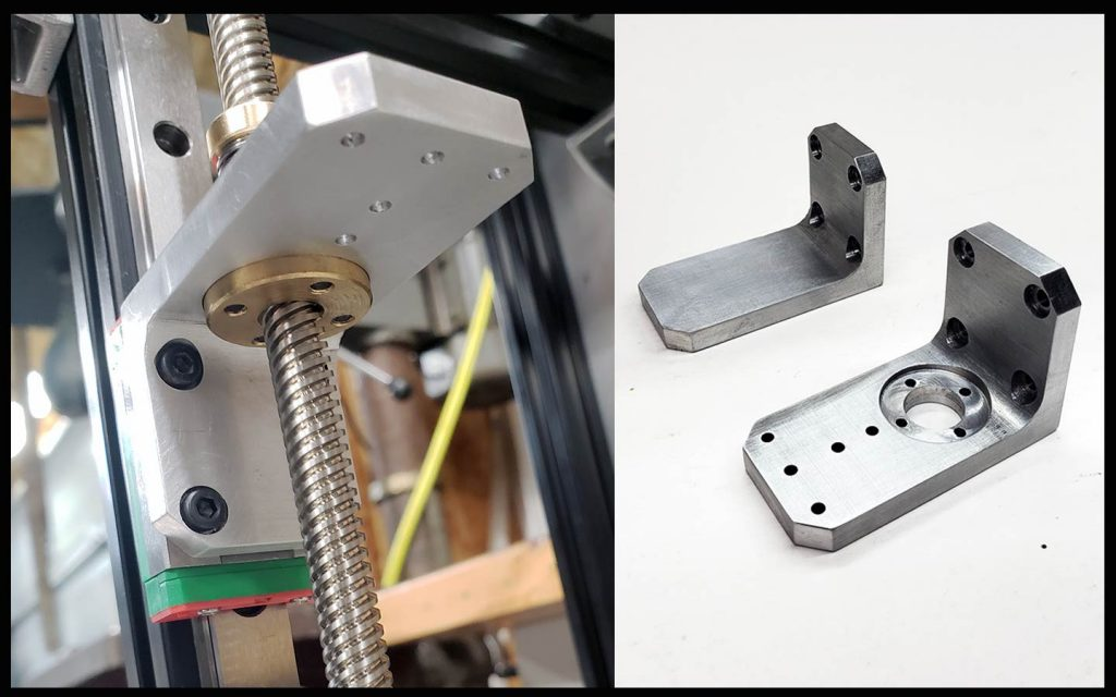 CoreXY Z-Axis Bed Lifters