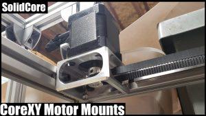 CoreXY Motor Mounts